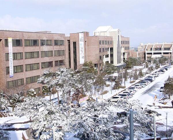Một góc học xá trường Yeoju Hàn Quốc