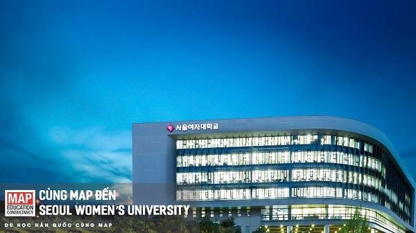 Học xá chính tại Đại học Nữ sinh Seoul
