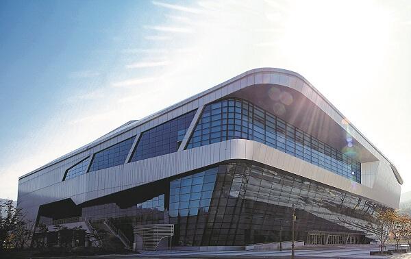Hội trường thể dục thể thao tại trường Đại học Cheongju Hàn Quốc