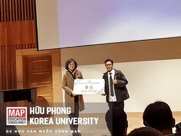 Cùng gặp gỡ Hữu Phong, gương mặt sáng nhất của Map tại ĐH Hàn Quốc