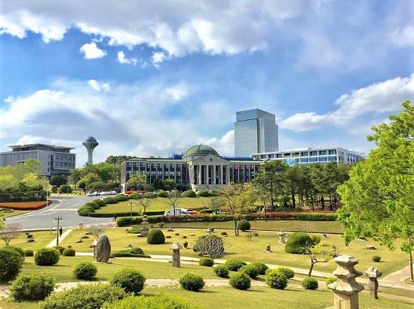 Khuôn viên trường Đại học Quốc gia Kyungpook
