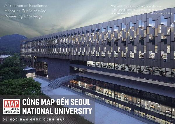 Kiến trúc ấn tượng trong khuôn viên SNU