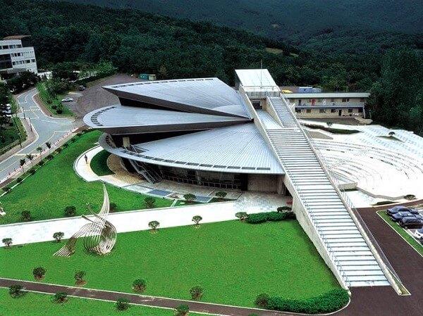 Kiến trúc độc đáo trong khuôn viên Kyonggi University