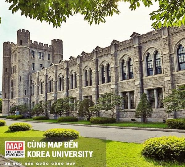 Lối kiến trúc Gothic đặc trưng của ĐH Hàn Quốc