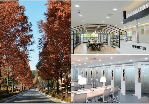 Cơ sở vật chất hiện đại tại trường Quốc gia Kunsan