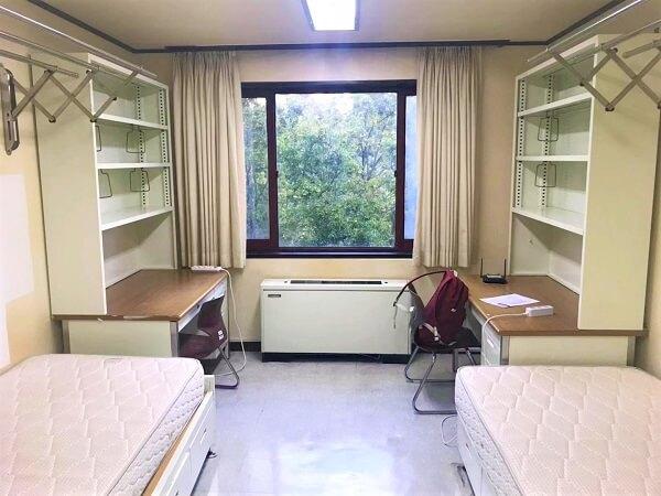 Phòng ký túc xá tại POSTECH
