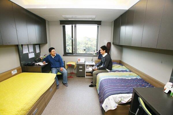 Ký túc xá hiện đại của Namseoul University