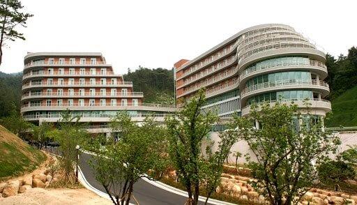 Ký túc xá trường Đại học Silla