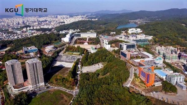Toàn cảnh Kyonggi University – Học xá Seoul