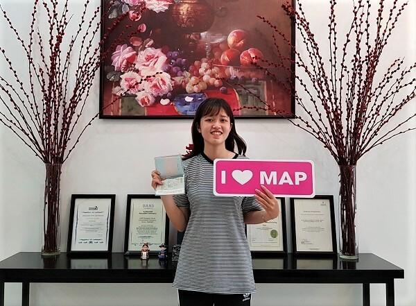 Lê Vy – Sinh viên MAP xuất sắc nhận visa du học tại Yonsei năm 2020