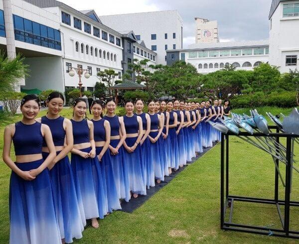 Một lớp Vũ đạo tại KWU