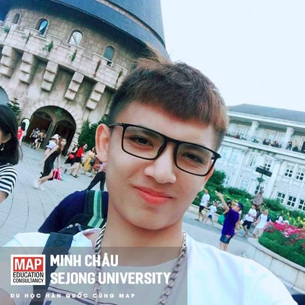 Minh Châu – chàng trai lãng tử của MAP tại trường Đại học Sejong Hàn Quốc