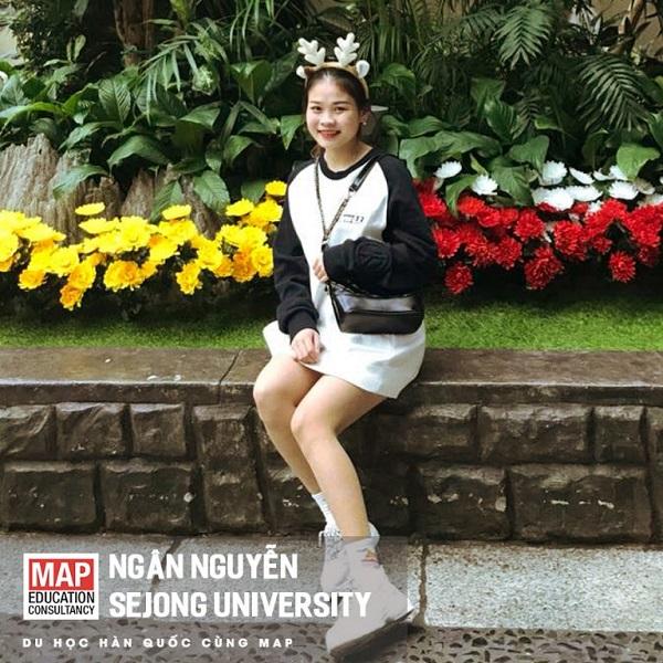 Ngân Nguyễn – Nữ sinh xinh xắn của MAP Sejong University