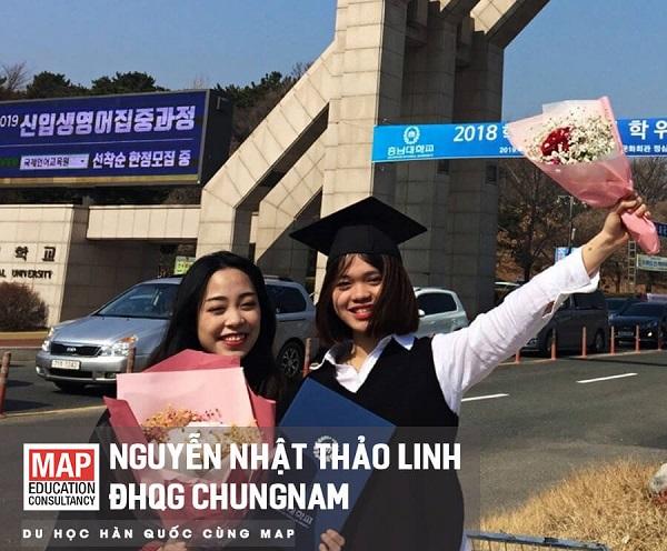 Nguyễn Nhật Thảo Linh - Sinh viên MAP ưu tú tại CNU