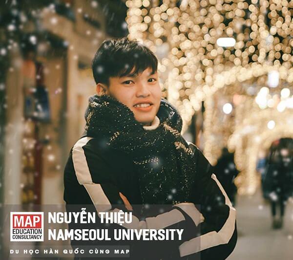 Nguyễn Thiệu - Du học sinh MAP xuất sắc tại Namseoul