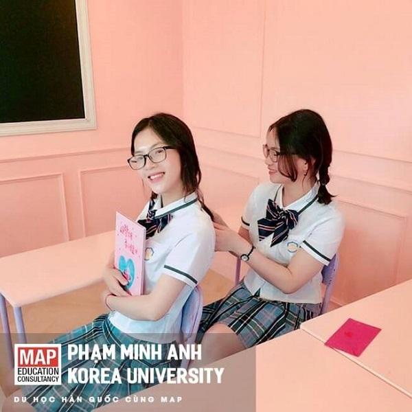 Phạm Minh Anh - Sinh viên ưu tú MAP tại Korea Uni