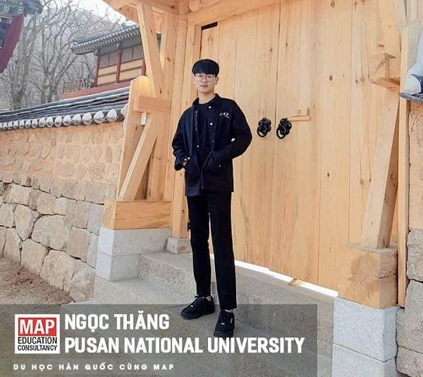 Phạm Ngọc Thăng – Du học sinh MAP ưu tú tại PNU