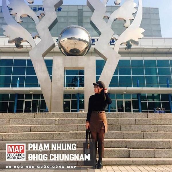 Phạm Nhung – Sinh viên ưu tú, cá tính của MAP tại CNU