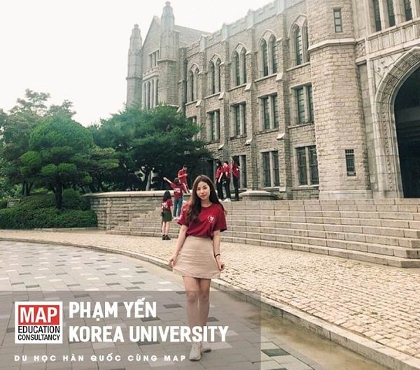 Phạm Thị Yến - học sinh xuất sắc học tại ĐH Hàn Quốc