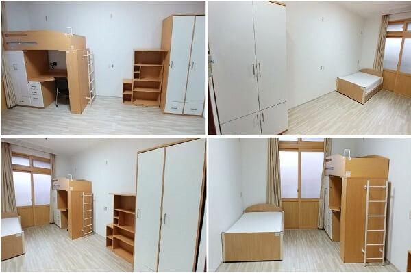 Phòng đôi tiêu chuẩn tại trường Jeju