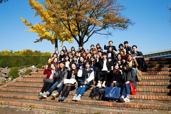 Sinh viên trường Đại học Yeungnam