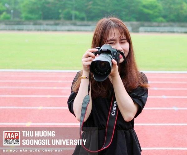 Thu Hương - Sinh viên MAP du học Hàn Quốc hệ Thạc sĩ ngành Quản trị kinh doanh