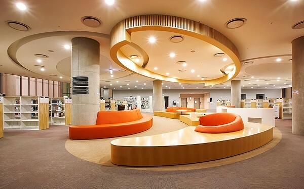Thư viện hiện đại tại Yonsei University