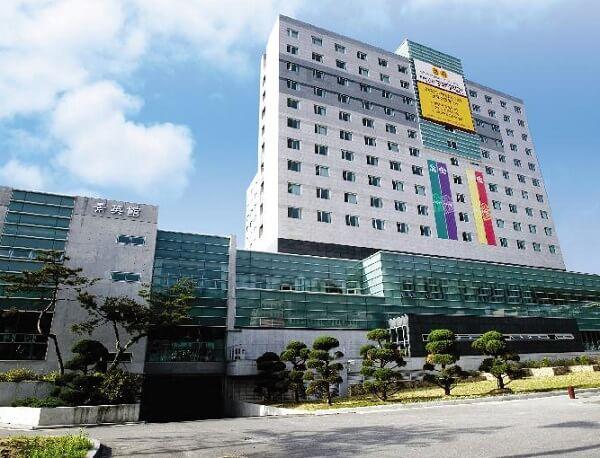Học xá chính tại trường đại học Joongbu Hàn Quốc