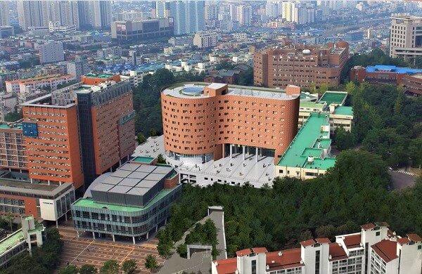 Tòa Ký túc xá quốc tế của ĐH Công giáo Hàn Quốc