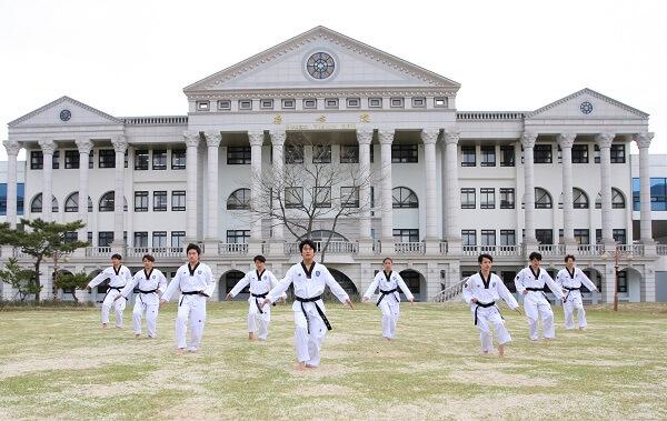 Khoa võ thuật của NBU