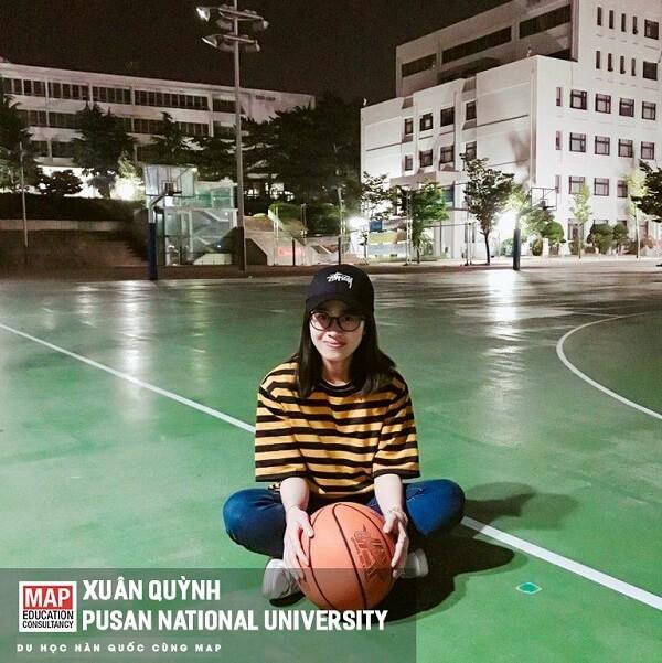 Xuân Quỳnh - nữ sinh MAP tại Đại học Quốc gia Busan