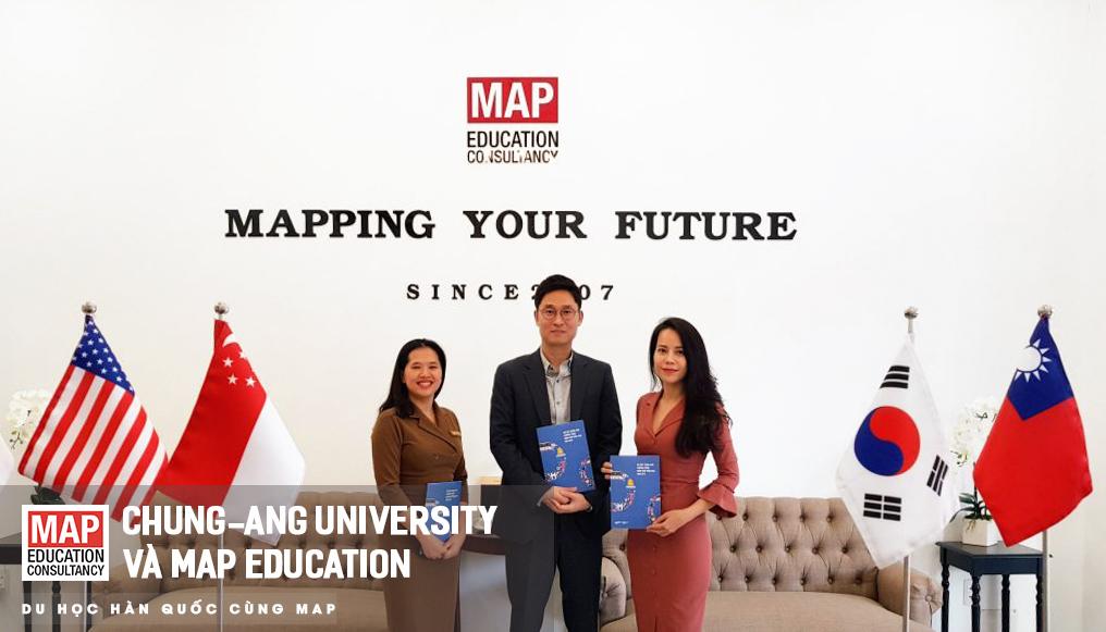 MAP là đơn vị tuyển sinh chính thức của Đại học Chung-Ang tại Việt Nam