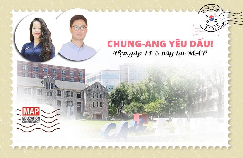 Hội Thảo Đại Học Chung Ang tại MAP - Sự kiện tháng 6.2019