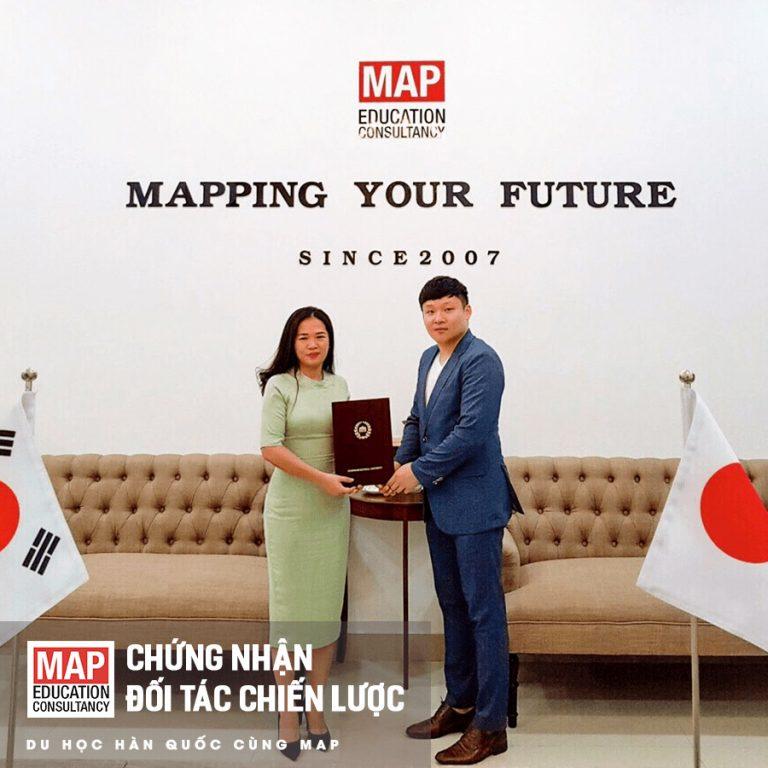 Đại học Quốc Gia Chungnam, Top 5 đại học công Hàn Quốc, chọn MAP làm đối tác chiến lược