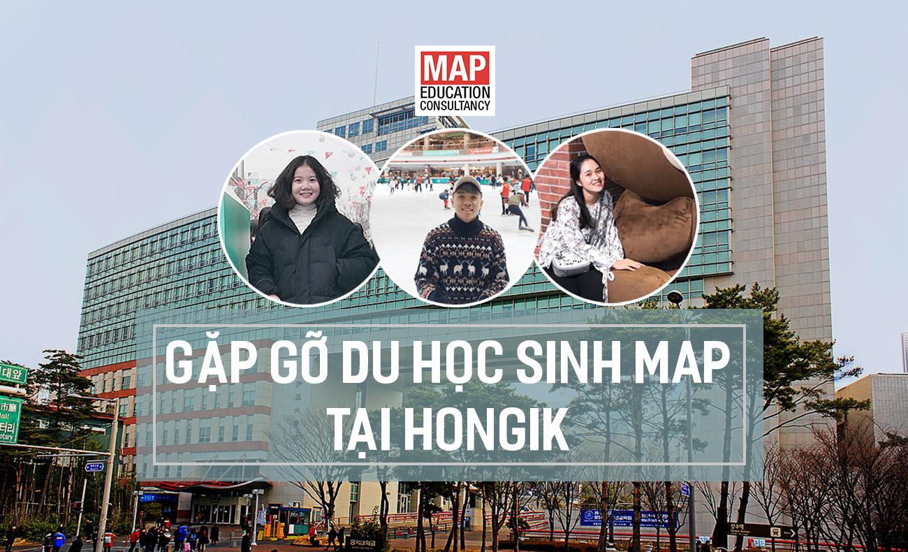 Gặp Gỡ Du Học Sinh Của MAP Tại Đại Học Hongik