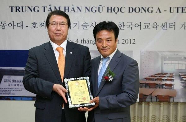 Đại diện trường đại học Dong Ah đến thăm và hợp tác với Asung