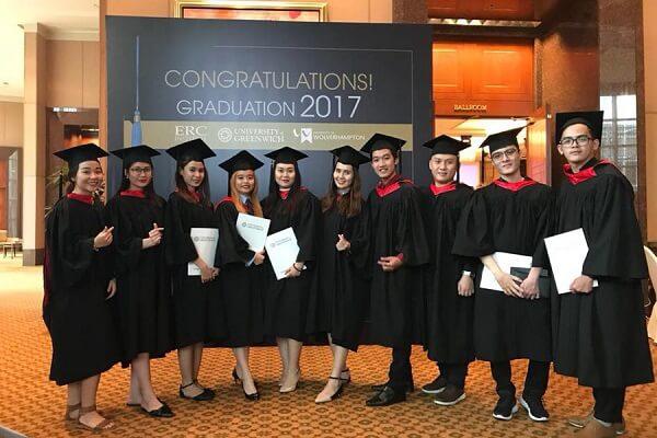 Du học sinh tốt nghiệp ngành marketing tại Học viện ERC
