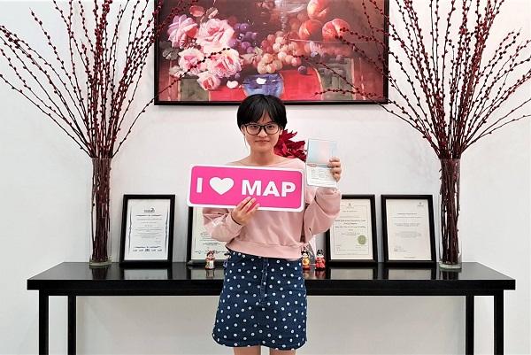 Hải Ly – Du học sinh ưu tú của MAP