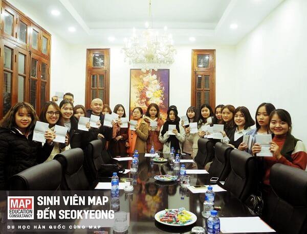 Sinh viên MAP nhận visa du học Hàn Quốc hệ tiếng Hàn