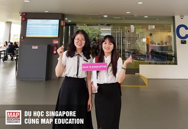 Cùng MAP du học Singapore ngành kinh doanh quốc tế