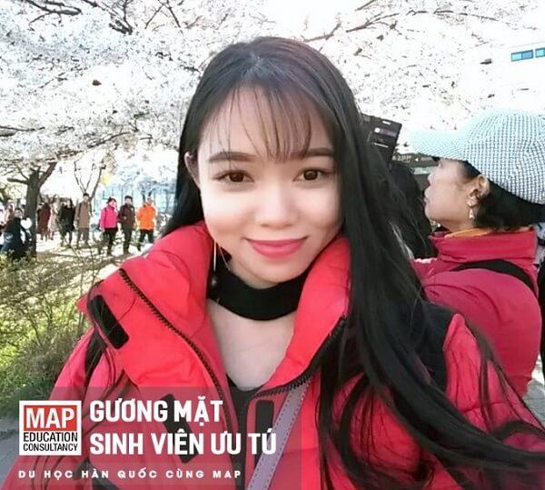 Đỗ Tuyết - Sinh Viên Ưu Tú của MAP đang học tại Myongji