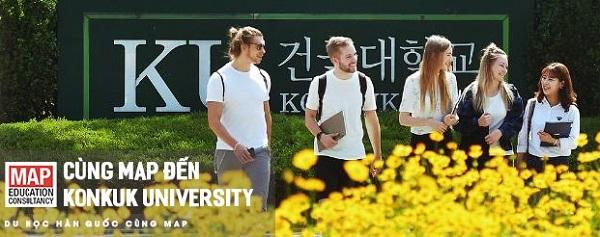 Du học sinh quốc tế tại Konkuk University