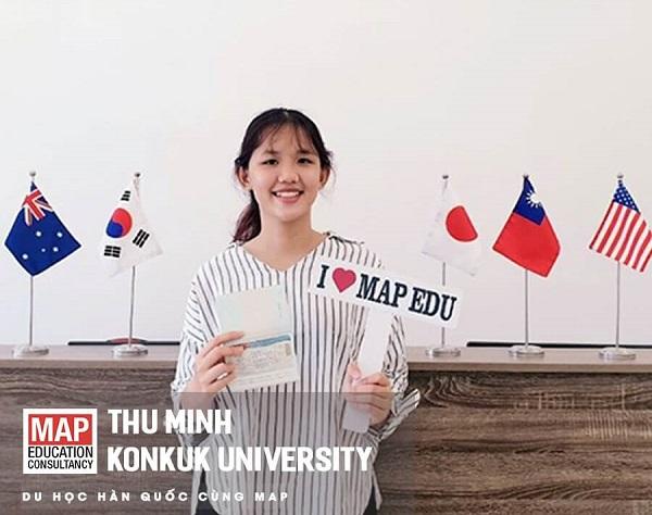 Thu Minh: Du học sinh MAP giành visa thẳng