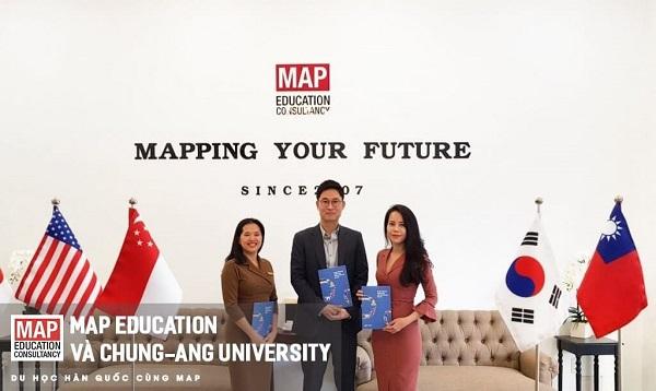 Du học Hàn Quốc tại Đại học ChungAng cùng Du Học MAP: đại diện chính thức của ChungAng.