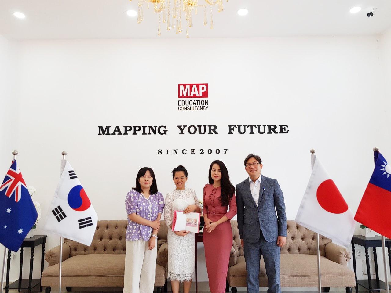 Phỏng Vấn Trực Tiếp Đại Học ChungAng Tại MAP 12.7.2019