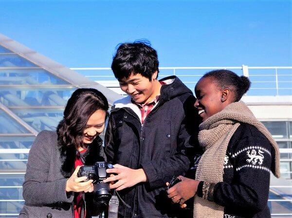Du học sinh quốc tế tại trường Pai Chai Hàn Quốc