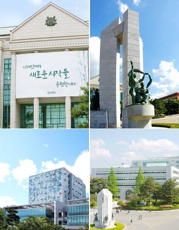 Những biểu tượng của University of Ulsan
