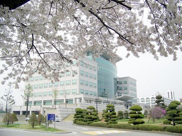 Một góc khuôn viên Đại học Inha Hàn Quốc