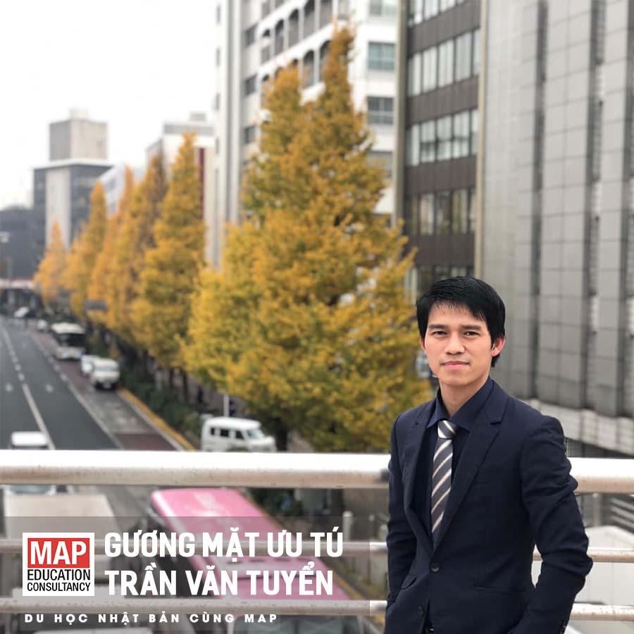 Trần Văn Tuyển là cựu sinh viên MAP