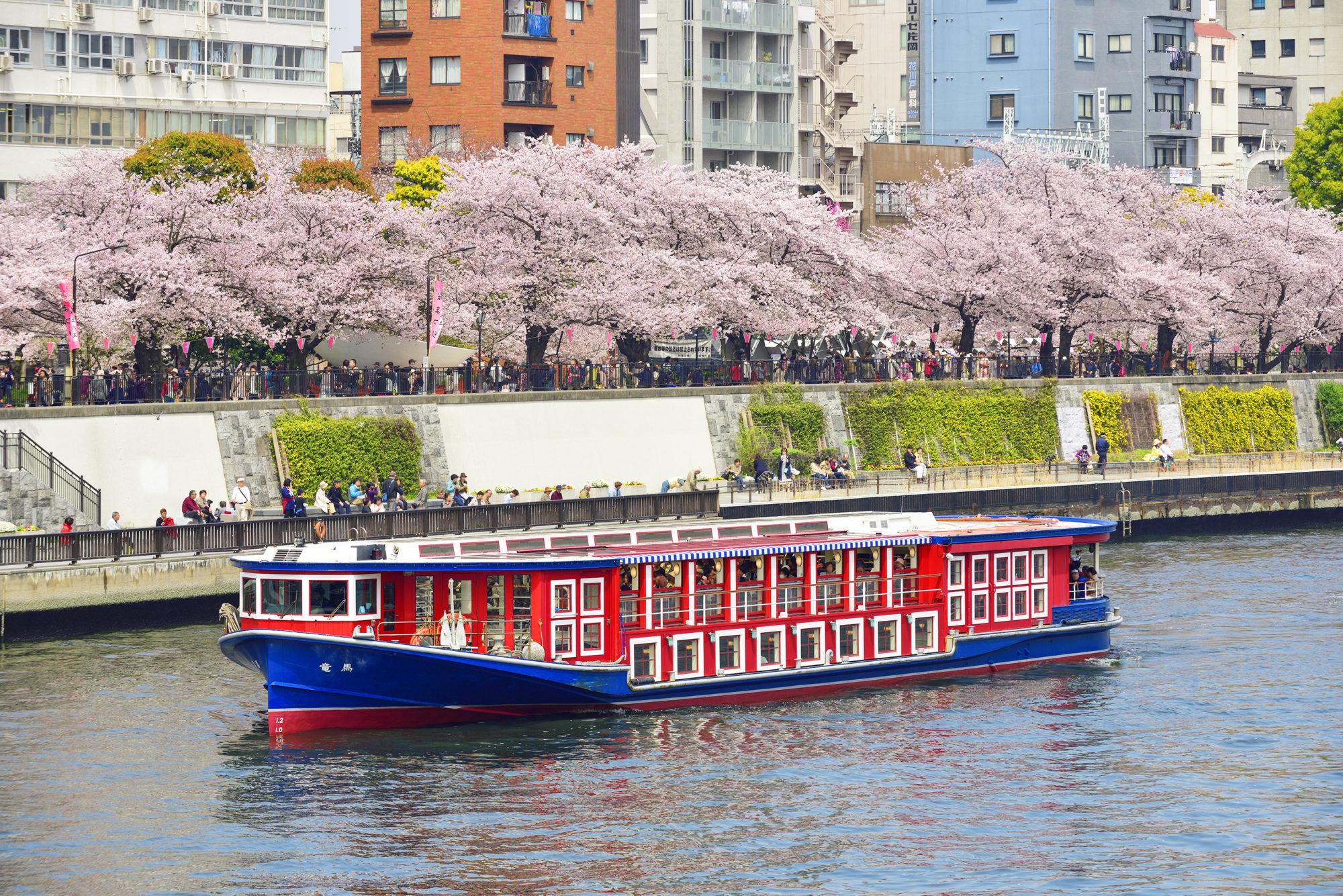 Dòng sông Sumida thơ mộng